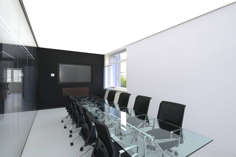 Plafond climatisé rétroéclairé BARRISOL
