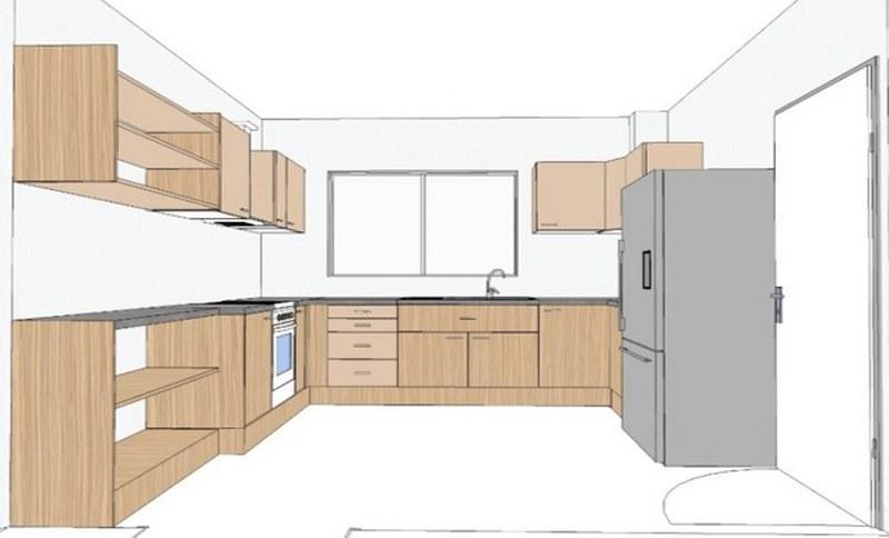 Plan cuisine dessin