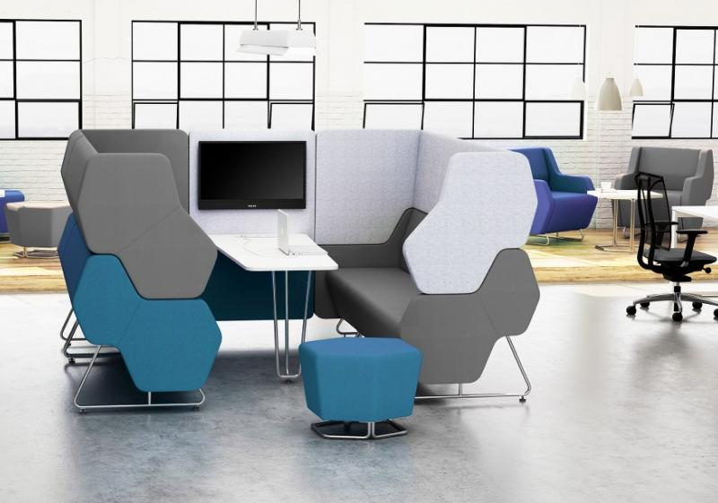 HEXA - pour créer des espaces collaboratifs performants